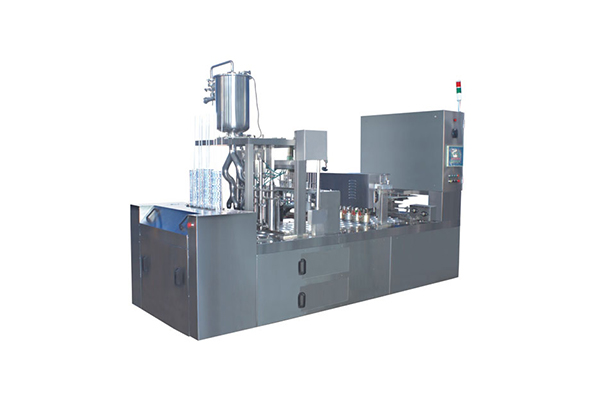 In-line cup machine